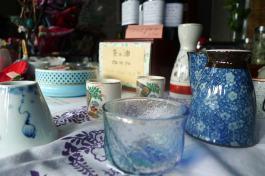 Les accessoires du thé