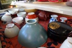 tasses et contenant à thé